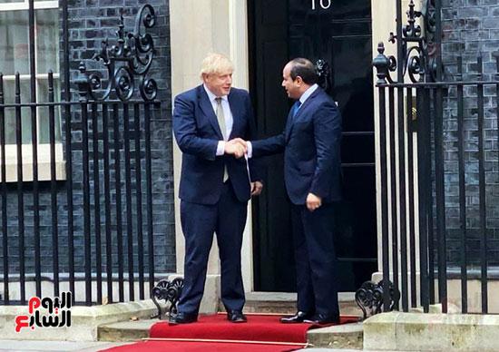 السيسى ورئيس الوزراء البريطانى (12)
