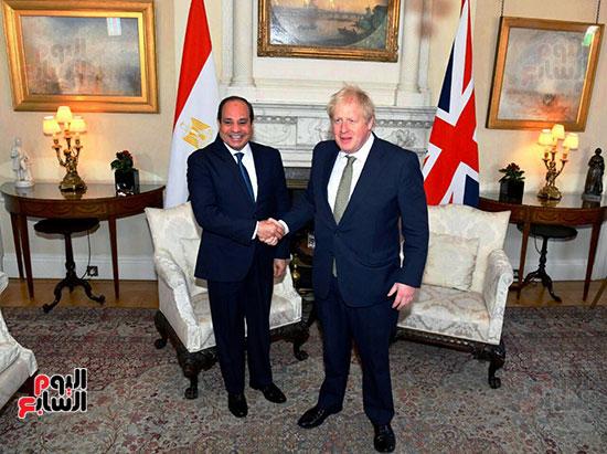 الرئيس-السيسي-وئيس-وزراء-بريطانيا