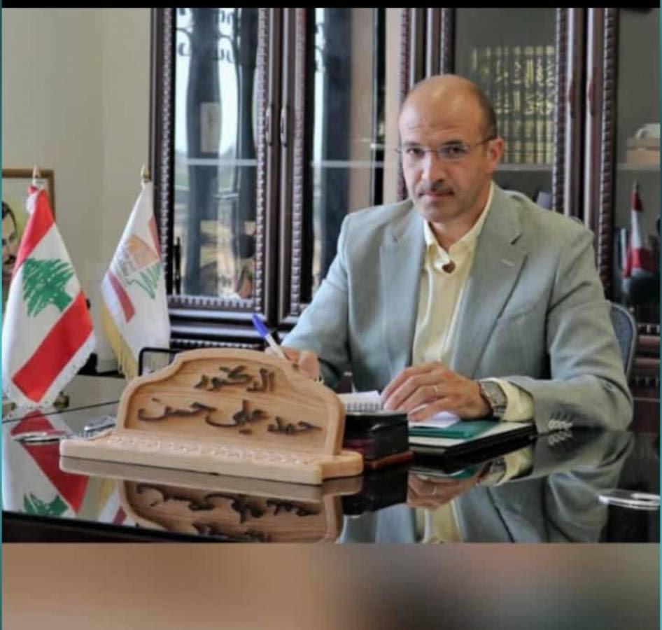 حمد على حسن وزير الصحة