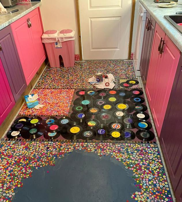أرضية المطبخ
