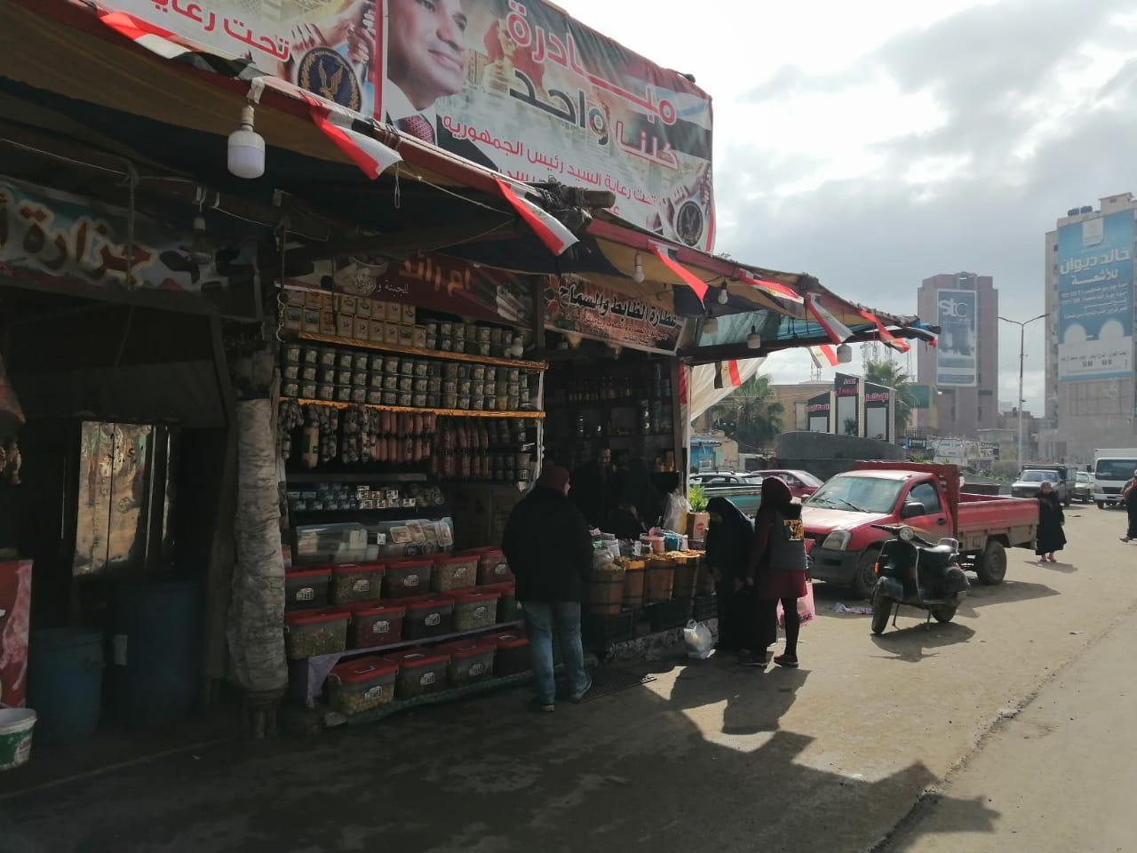 اسواق اللحوم والخضراوات بالغربية (6)
