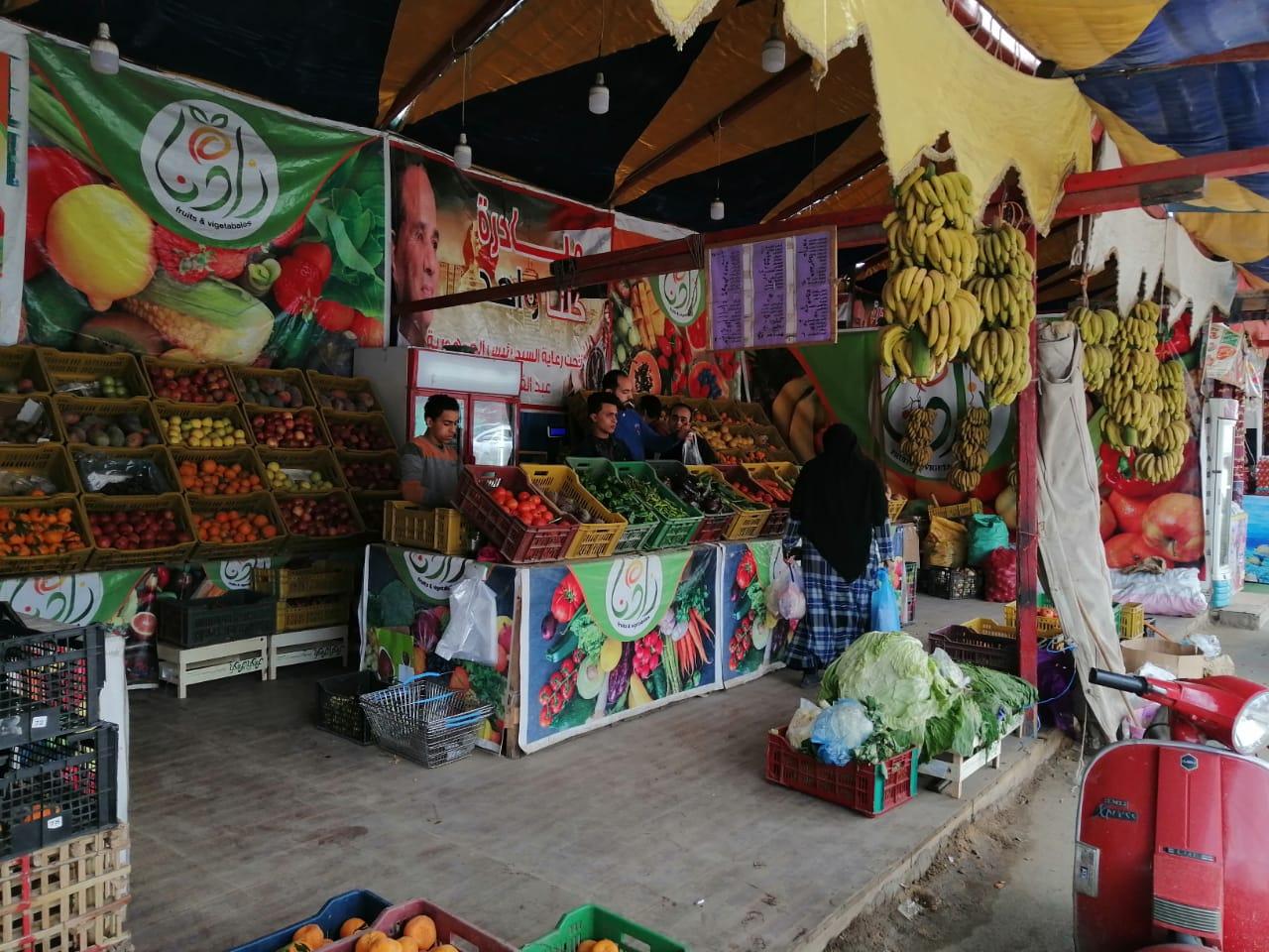 اسواق اللحوم والخضراوات بالغربية (3)