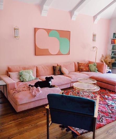 اللون الوردي مسيطر فى 2020 اتعلمى إزاى تختاريه فى ديكورات بيتك اليوم السابع