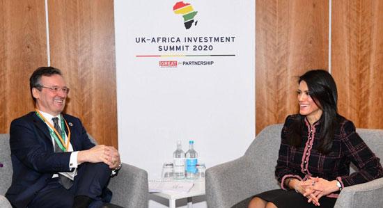 حصاد مشاركة وزيرة التعاون الدولى فى قمة الاستثمار البريطانية الأفريقية بلندن (1)
