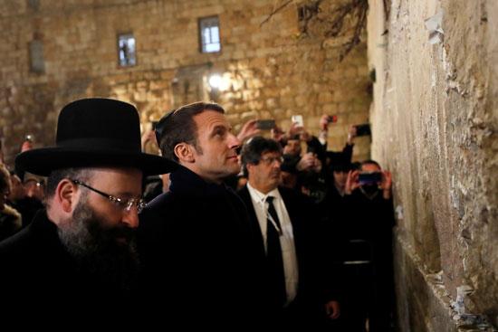 ماكرون يزور القدس