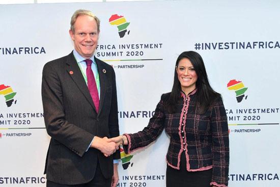 حصاد مشاركة وزيرة التعاون الدولى فى قمة الاستثمار البريطانية الأفريقية بلندن (2)