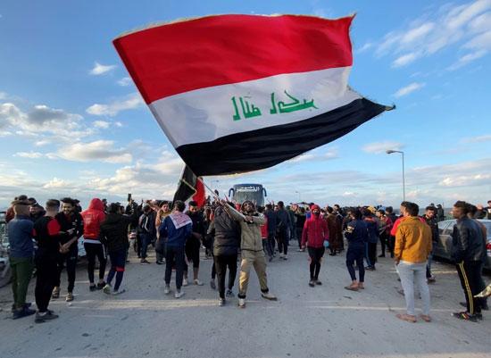 تظاهرات ضد الحكومة العراقية الجديدة