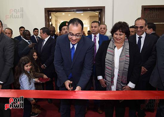 مصطفى مدبولى يفتتح معرض القاهرة الدولى للكتاب (3)