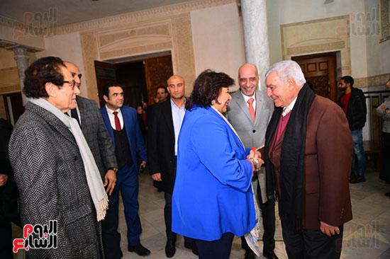 مشاركة وزيرة الثقافة بحفل مؤسسة فاروق حسنى (1)