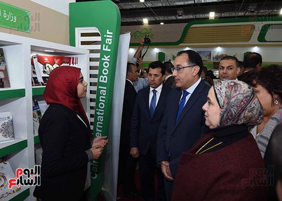 مصطفى مدبولى يفتتح معرض القاهرة الدولى للكتاب (14)