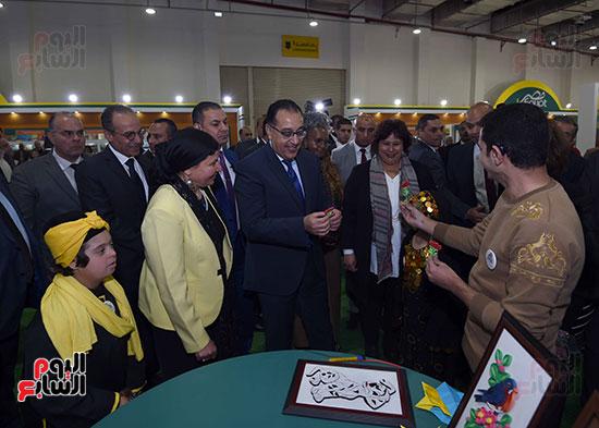 مصطفى مدبولى يفتتح معرض القاهرة الدولى للكتاب (18)