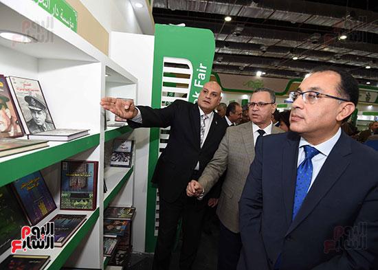 مصطفى مدبولى يفتتح معرض القاهرة الدولى للكتاب (16)