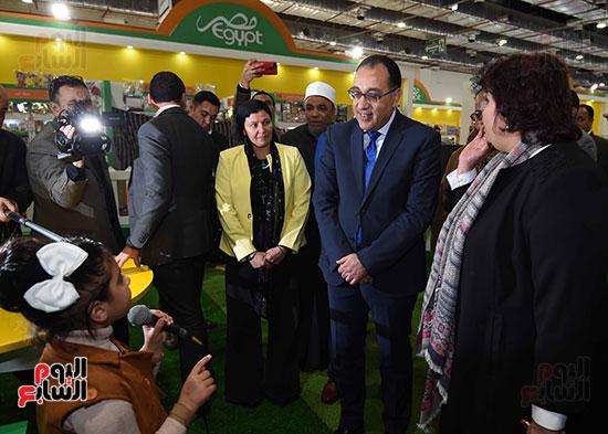 مصطفى مدبولى يفتتح معرض القاهرة الدولى للكتاب (2)