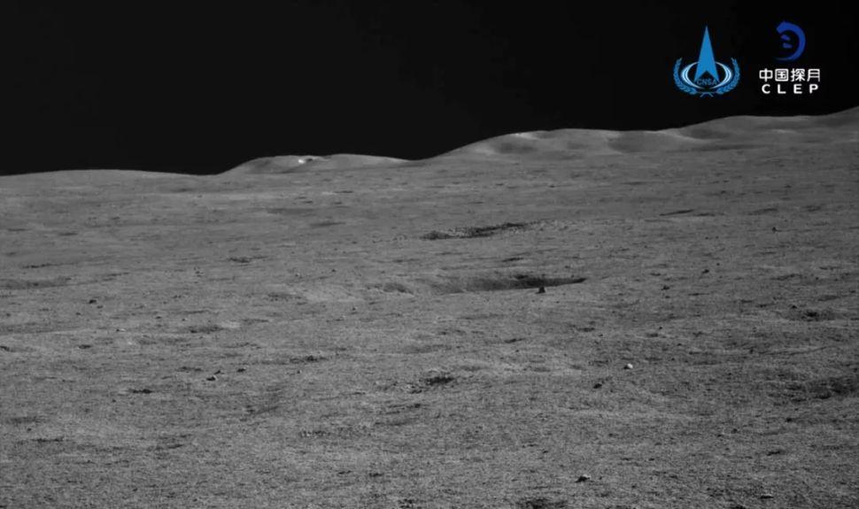 صورة لمهمة الصين على القمر