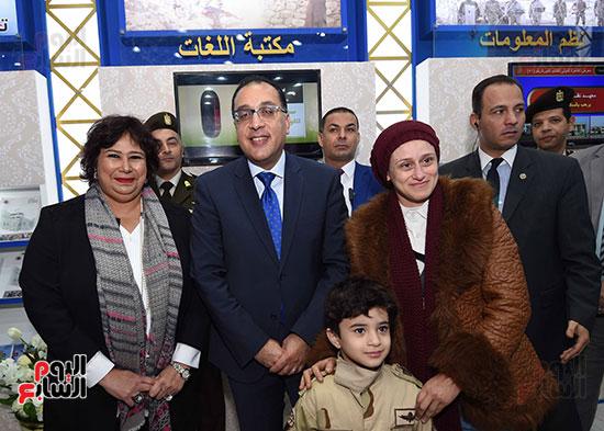 مصطفى مدبولى يفتتح معرض القاهرة الدولى للكتاب (5)