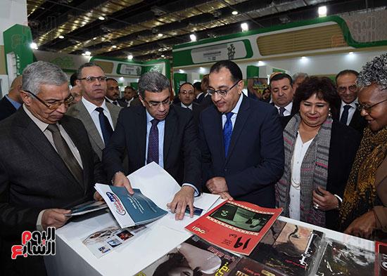 مصطفى مدبولى يفتتح معرض القاهرة الدولى للكتاب (15)