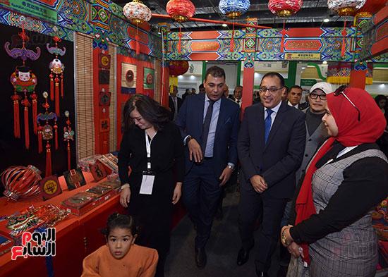 مصطفى مدبولى يفتتح معرض القاهرة الدولى للكتاب (13)