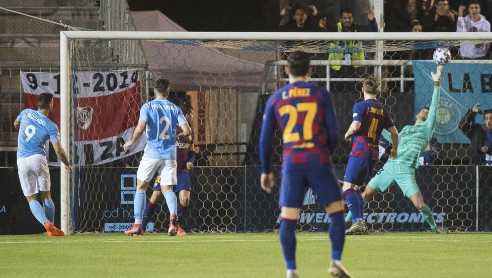 مباراة برشلونة وايبيزا