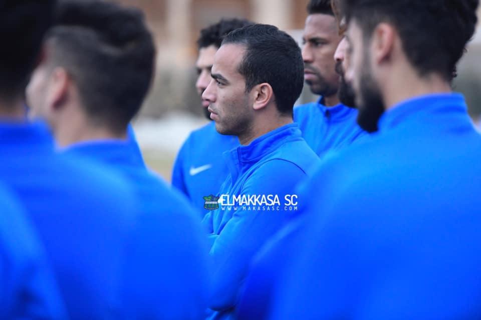 تركيز لاعبي مصر للمقاصة في التدريبات