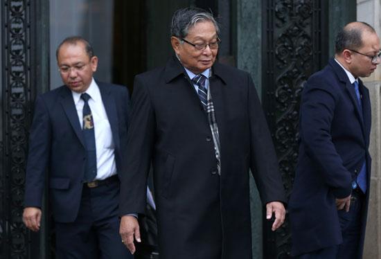 مدير-مكتب-المستشار-الحكومى-لميانمار-يغادر-محكمة-العدل-الدولية