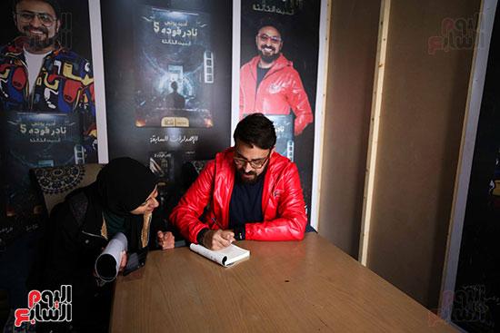 حفل توقيع كتاب المذيع احمد يونس (5)