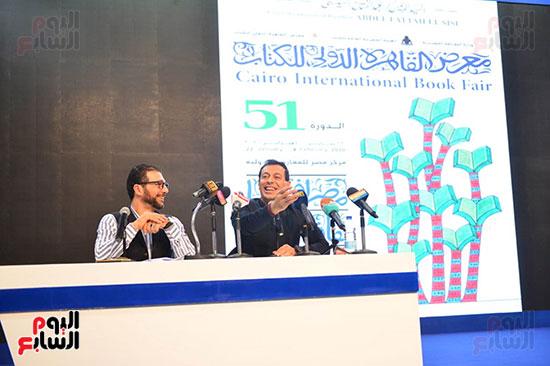 ندوة مصطفى شعبان معرض الكتاب (1)