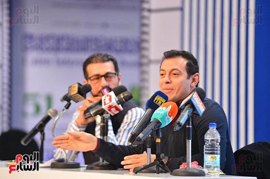 ندوة مصطفى شعبان معرض الكتاب (30)