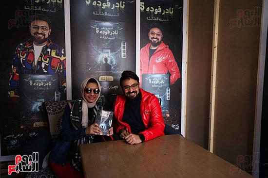 حفل توقيع كتاب المذيع احمد يونس (9)