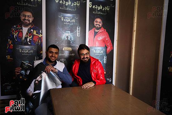 حفل توقيع كتاب المذيع احمد يونس (7)