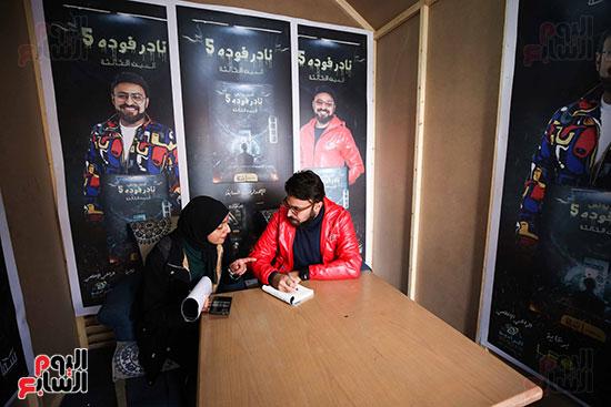حفل توقيع كتاب المذيع احمد يونس (4)