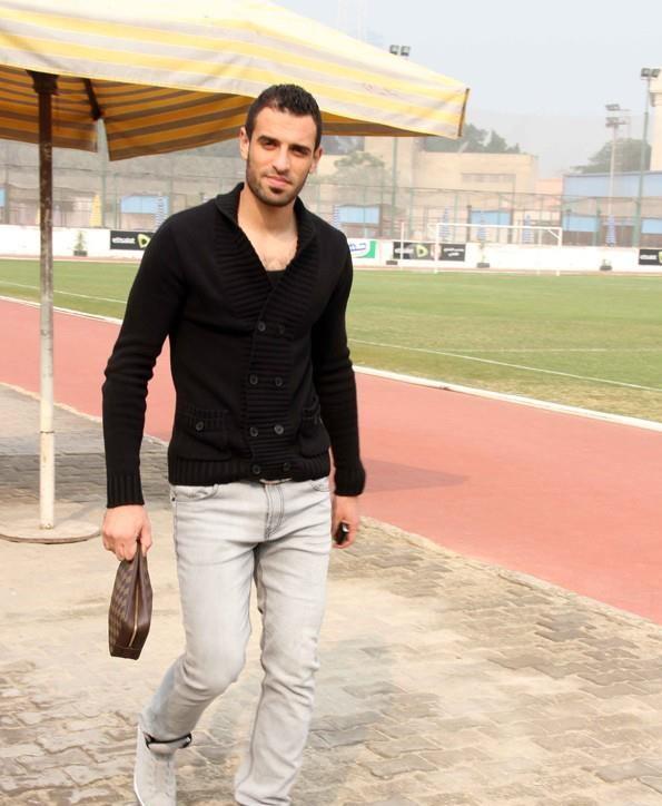 محمود ابو السعود حارس المقاولون (2)