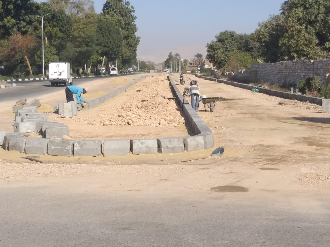 توسعة وتطوير مدخل المدينة (1)