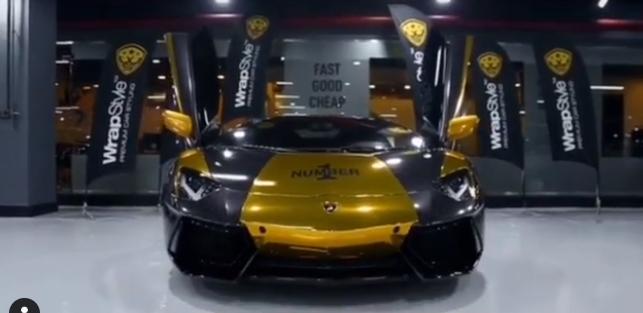سيارة محمد رمضان الجديدة