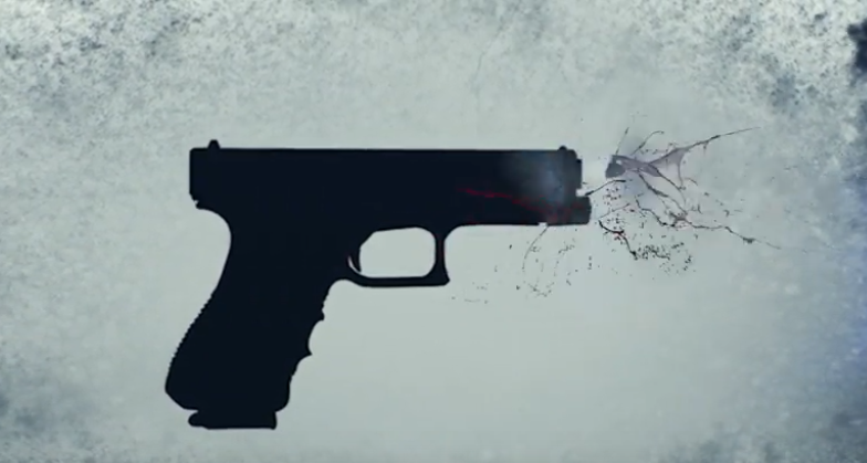 إطلاق الرصاص من مسدس
