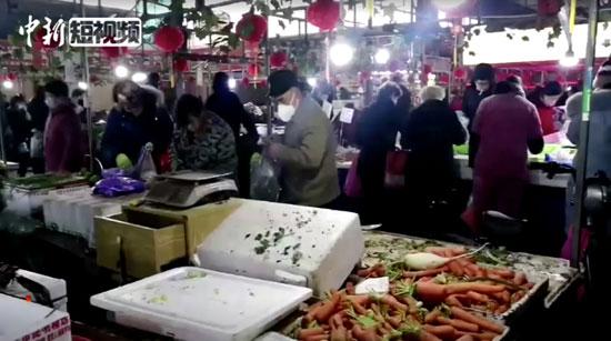 أحد الأسواق فى الصين