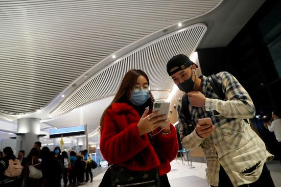أحد المطارات فى الصين