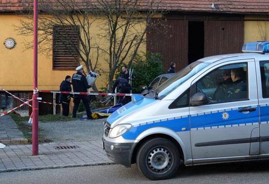 سيارة تابعة للشرطة الألمانية