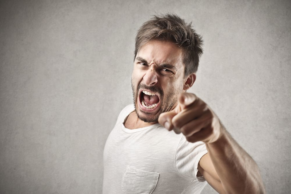 طرق التعبير عن الغضب
