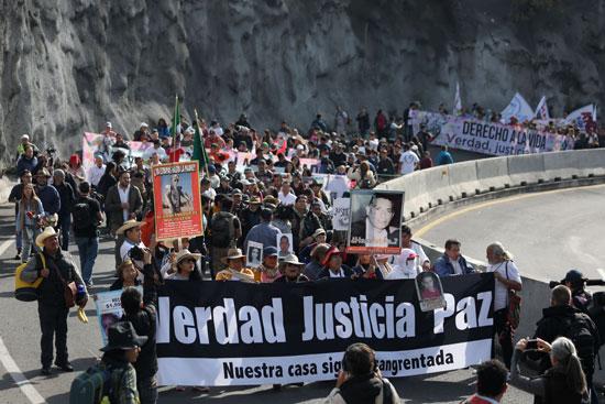 مسيرة بالمكسيك احتجاجا على العنف
