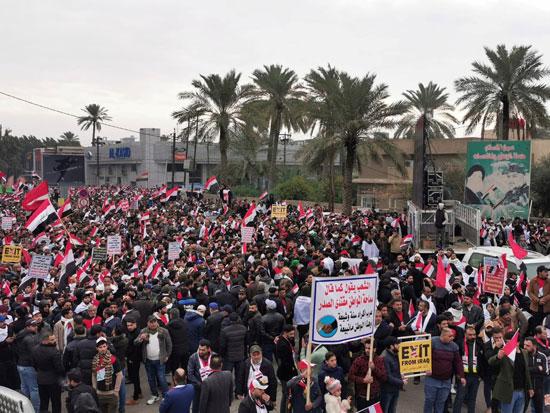 مظاهرات بالعراق