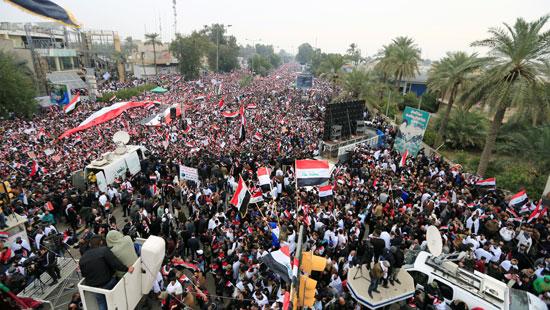جحافل المتظاهرين