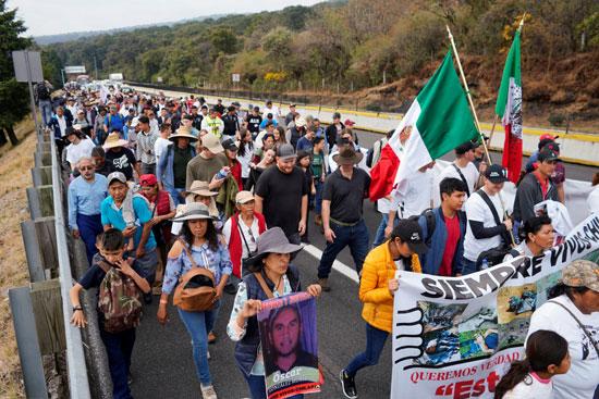 زيادة كبيرة فى معدلات العنف بالمكسيك