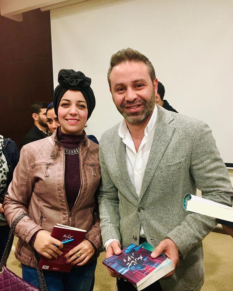 حازم إمام  مع أسماء علاء الدين