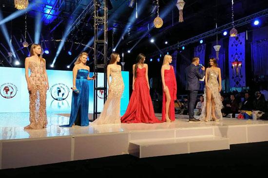 الحفل الختامى لمسابقة عارضات الأزياء توب موديلز (3)