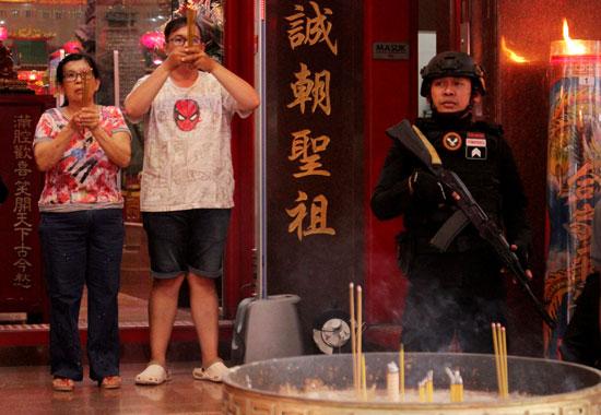 تأمين الاحتفالات برأس السنة الصينية الجديدة