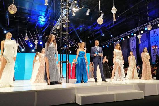 الحفل الختامى لمسابقة عارضات الأزياء توب موديلز (4)
