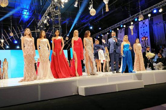 الحفل الختامى لمسابقة عارضات الأزياء توب موديلز (5)