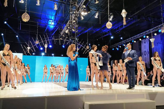 الحفل الختامى لمسابقة عارضات الأزياء توب موديلز (6)