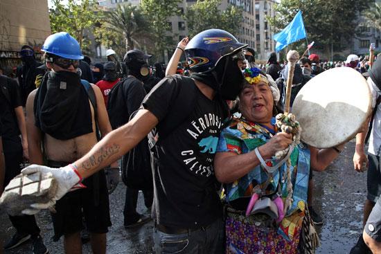 احتجاجات المتظاهرين