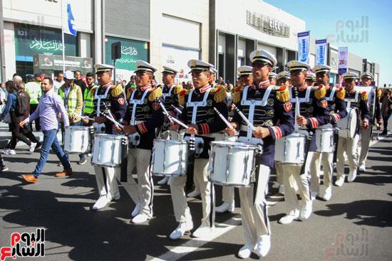 عرض الموسيقى العسكرية بمعرض الكتاب احتفالا بعيد الشرطه (1)